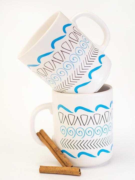 Ceramic mug Motifs
