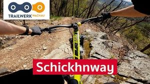 SCHICKHNWAY - Trailwerk Wachau | Mountainbike Enduro Trail in Niederösterreich