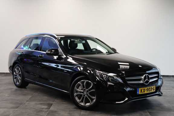 "Mercedes-Benz C-Klasse Estate 350 e Lease Edition EX BTW Navigatie Full-Led 17""LM"