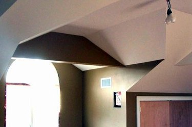 spackling contractor installed drywall