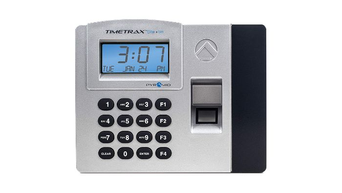 TimeTrax Elite Bio Fingerprint Time Clock