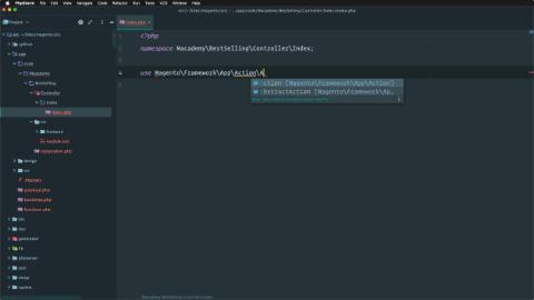 Create a controller using inheritance
