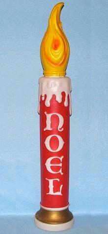 Giant Noel Candle photo