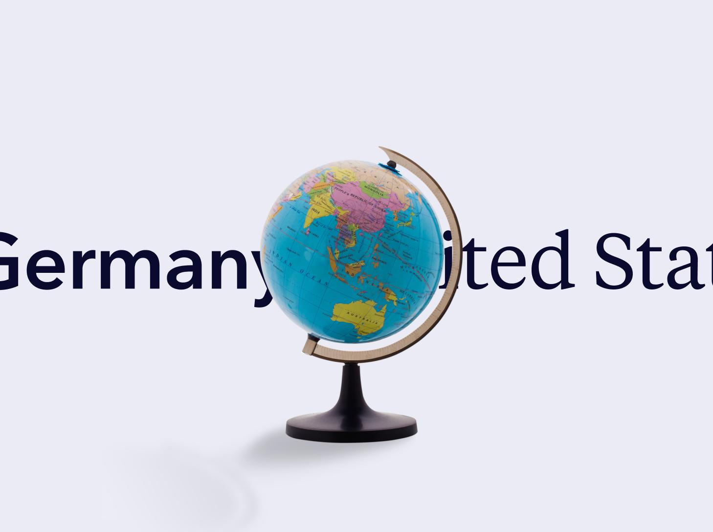 Located around the globe
