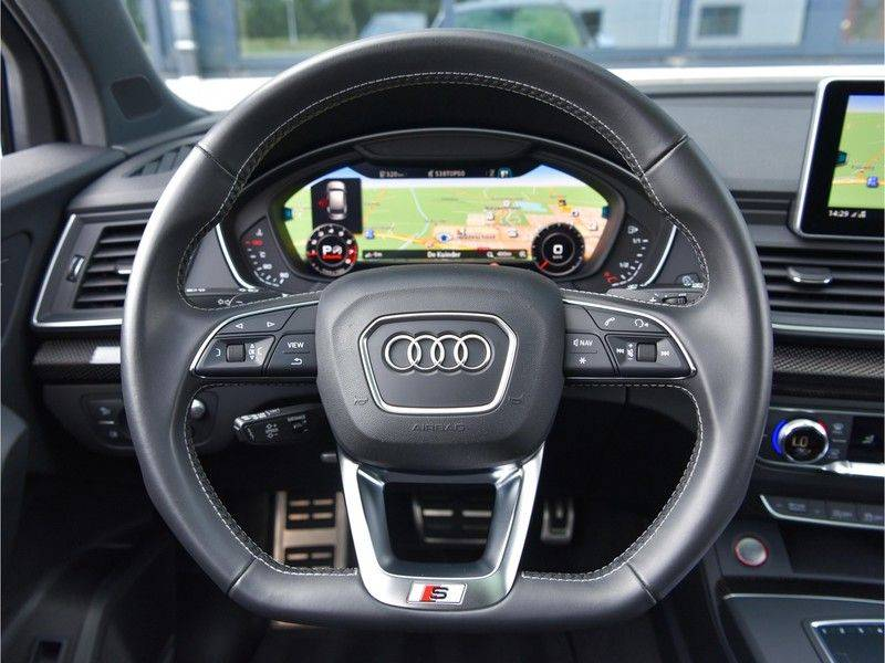 Audi SQ5 3.0TFSI 354pk Quattro Black Optic Lucht HUD B&O Pano Ruitleder ACC 21-Inch Carbon afbeelding 20