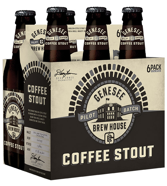 Genesee Coffee Stout can