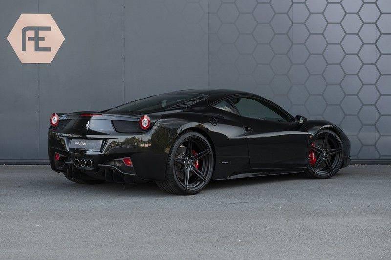 Ferrari 458 4.5 V8 Italia New Power Garantie T/M 12-03-2022, Carbon Sport Seats, Custom Exhaust, Carbon exterieurdelen afbeelding 4