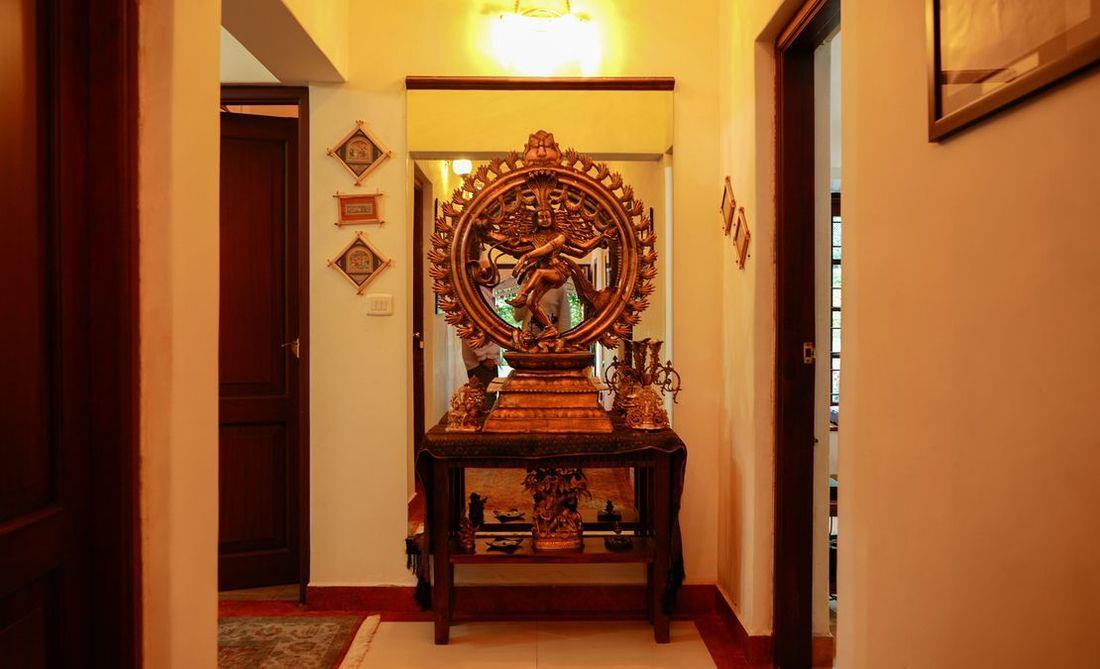 Nataraja picture in the Corridor