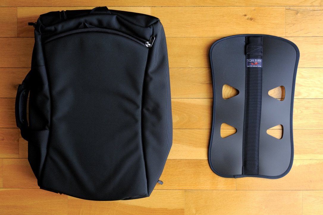 The Aeronaut 30 can be carried with an optional internal frame sheet
