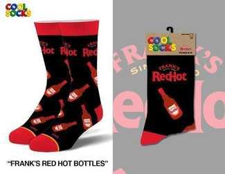 Cool Socks Frank's Red Hot Socks