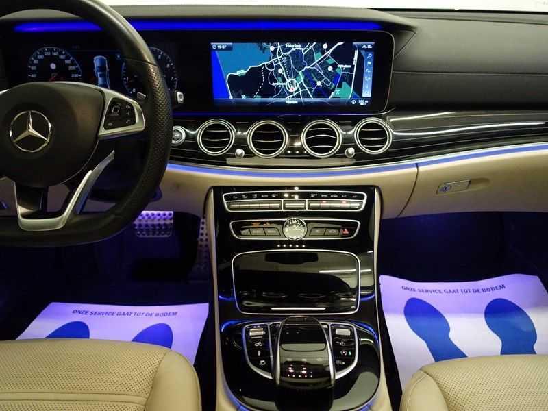 Mercedes-Benz E-Klasse 43 AMG 4Matic Prestige 402pk Aut- Pano, Burmester, Head-up, 360 Camera afbeelding 4