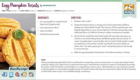 Holiday Recipe: Easy Pumpkin Treats