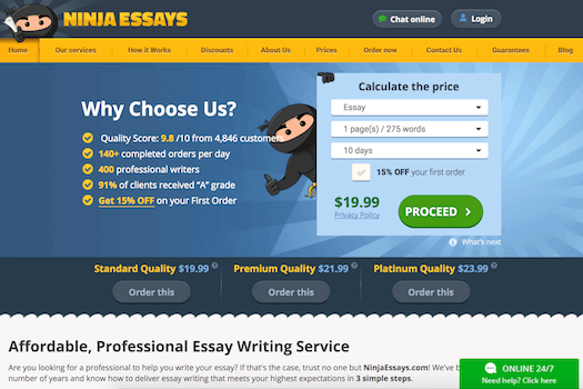 Business Essay Format Ninjaessayscom Review Essay Vs Paper also Health Needs Assessment Essay Ninja Essays Review  Ihatewritingessayscom Informative Synthesis Essay