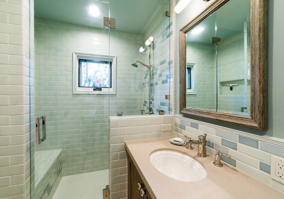 Bankers Hills Custom Bathroom image