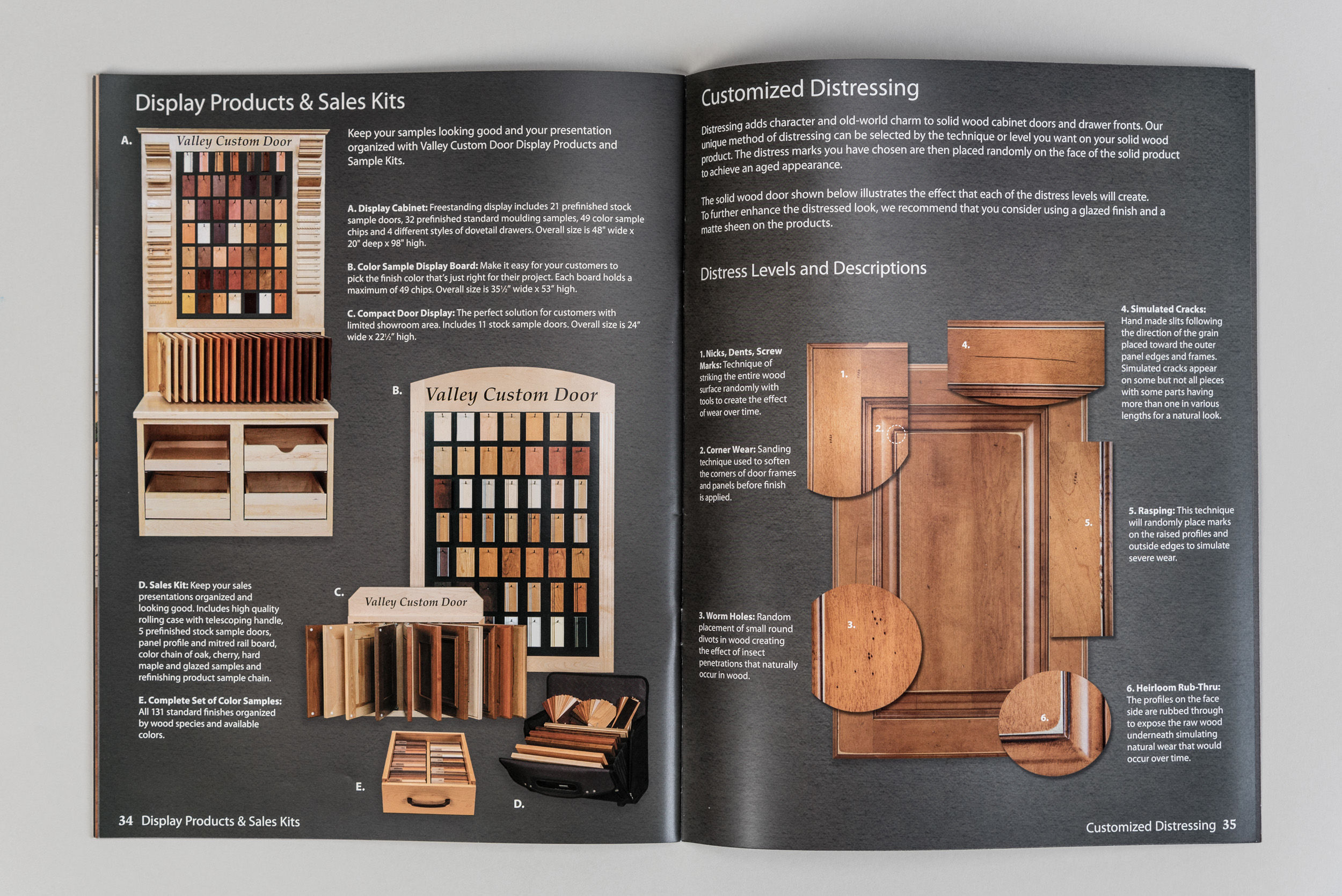 Valley Custom Door Product Catalog Spread 4