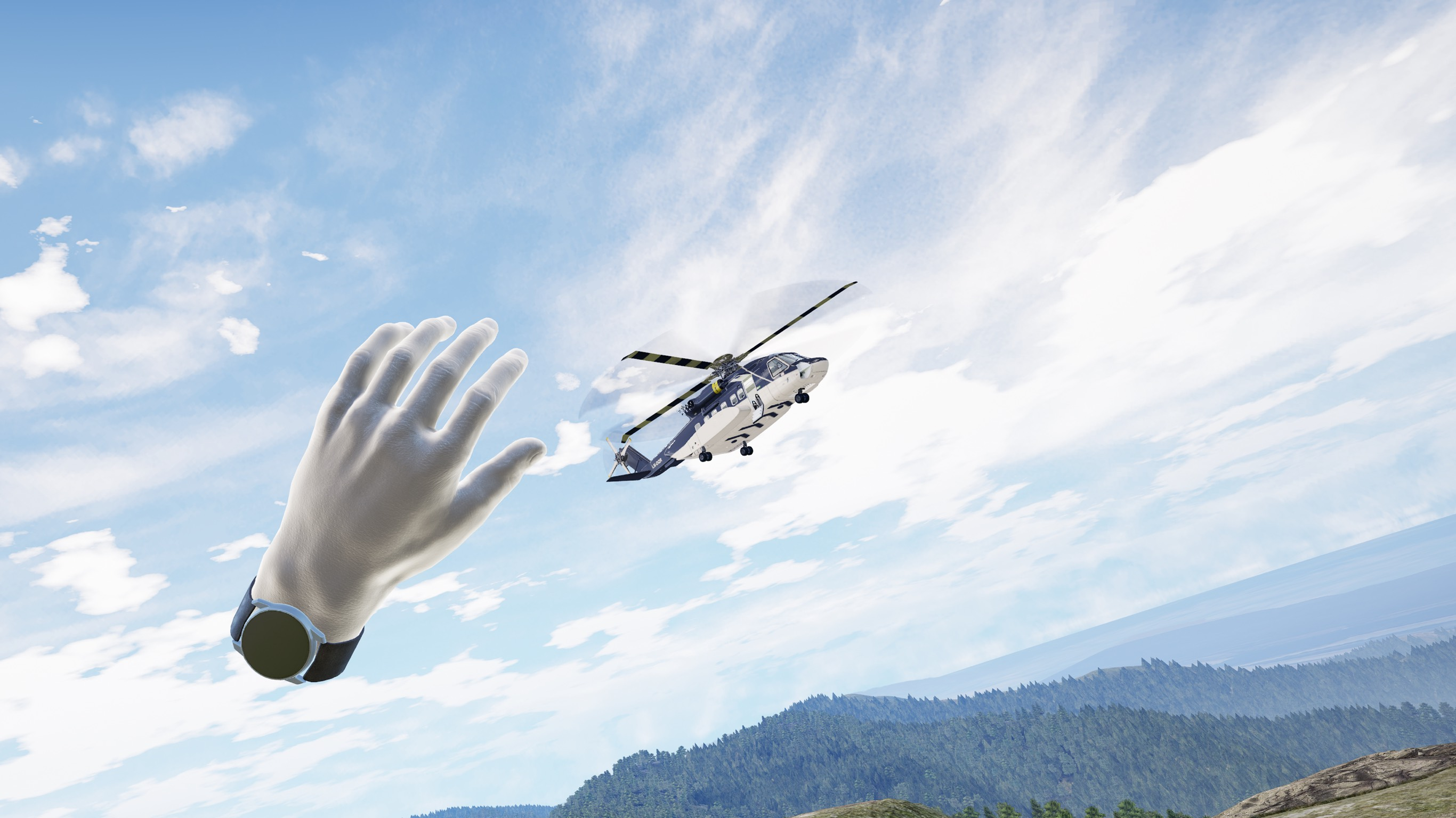 Buzludzha VR Helicopter