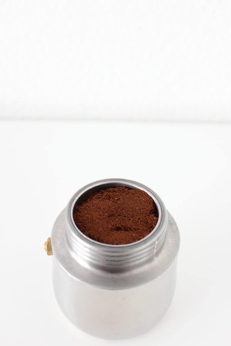 Espresso in der Kanne