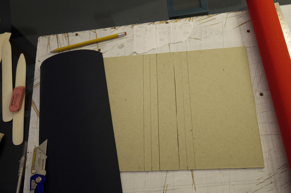 Cutting fabric for the cover