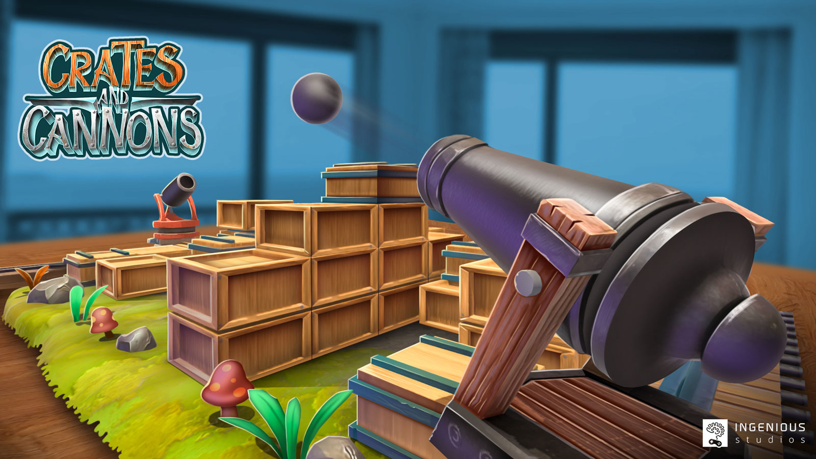 Crates and cannons Game