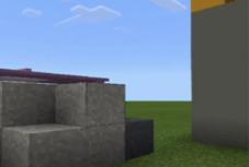 Carbon-capturing concrete in Minecraft