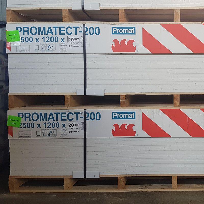 Protupožarne ploče - Promat PROMATECT 200