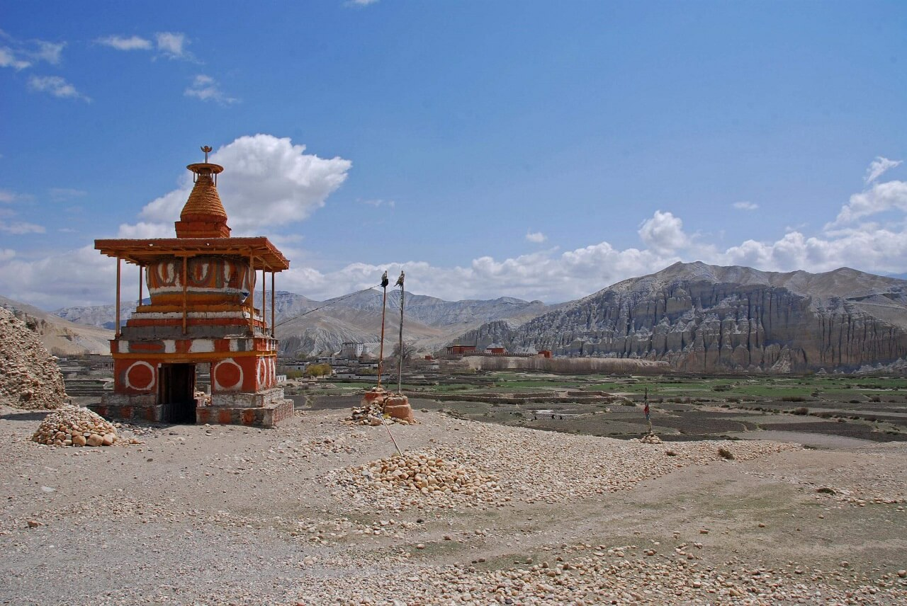 Mustang - Tsarang Entrance