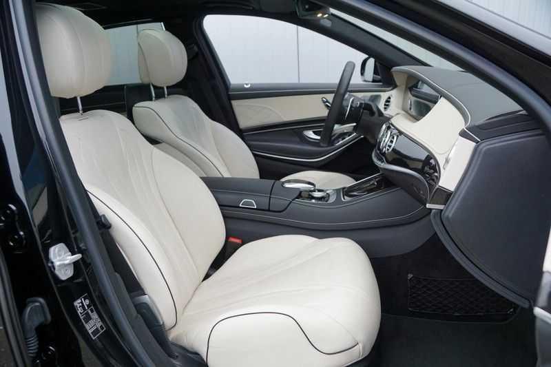 Mercedes-Benz S-Klasse 560 4Matic Lang Premium Plus 470pk / AMG / Nwpr: E186.000,- / Full Options! afbeelding 8