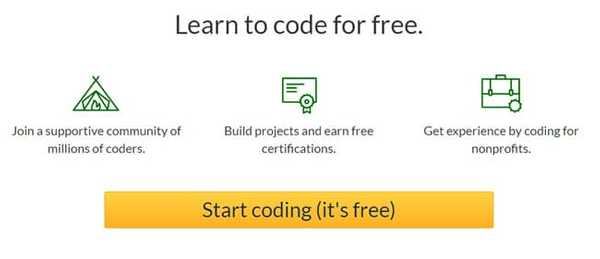 freecodecamp online JavaScript course