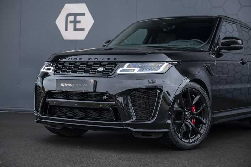 "Land Rover Range Rover Sport SVR 5.0 V8 SC Carbon interieur, Stoelkoeling, Head-up, Panoramadak, Elektrische Trekhaak, 22"", Pixel Laser Led Koplampen, Apple Carplay, 360Camera, Meridian Surround, Verwarmbaar Stuurwiel afbeelding 5"