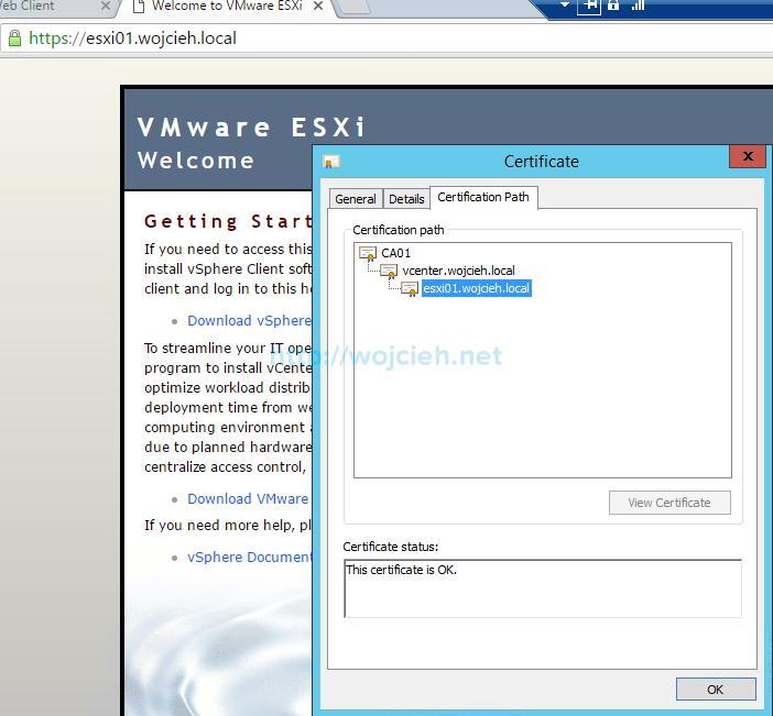 Renew ESXi SSL certificates in vSphere Web Client - 7