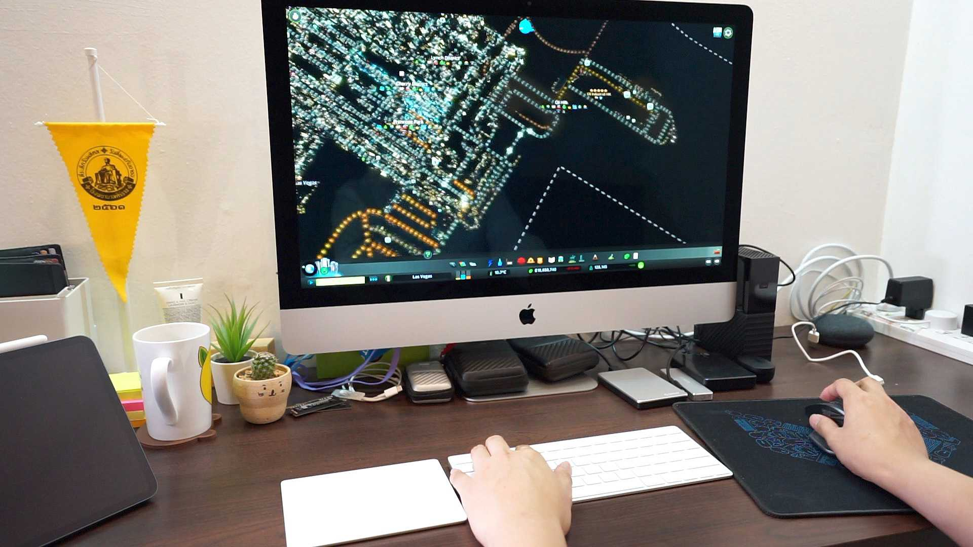 iMac 27-inch 2019 Playing Cities Skyline