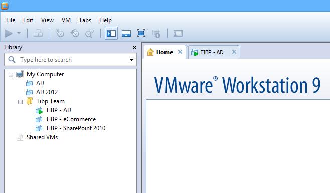 VMware Workstation 9 File found