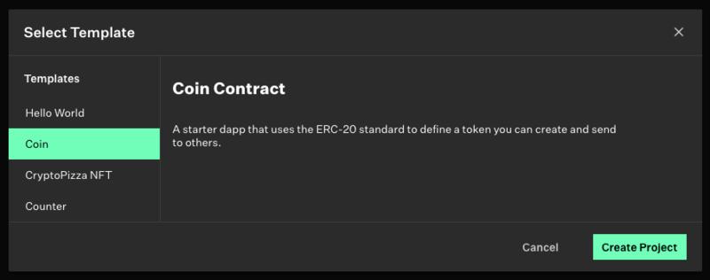 A fullstack dapp for creating tokens