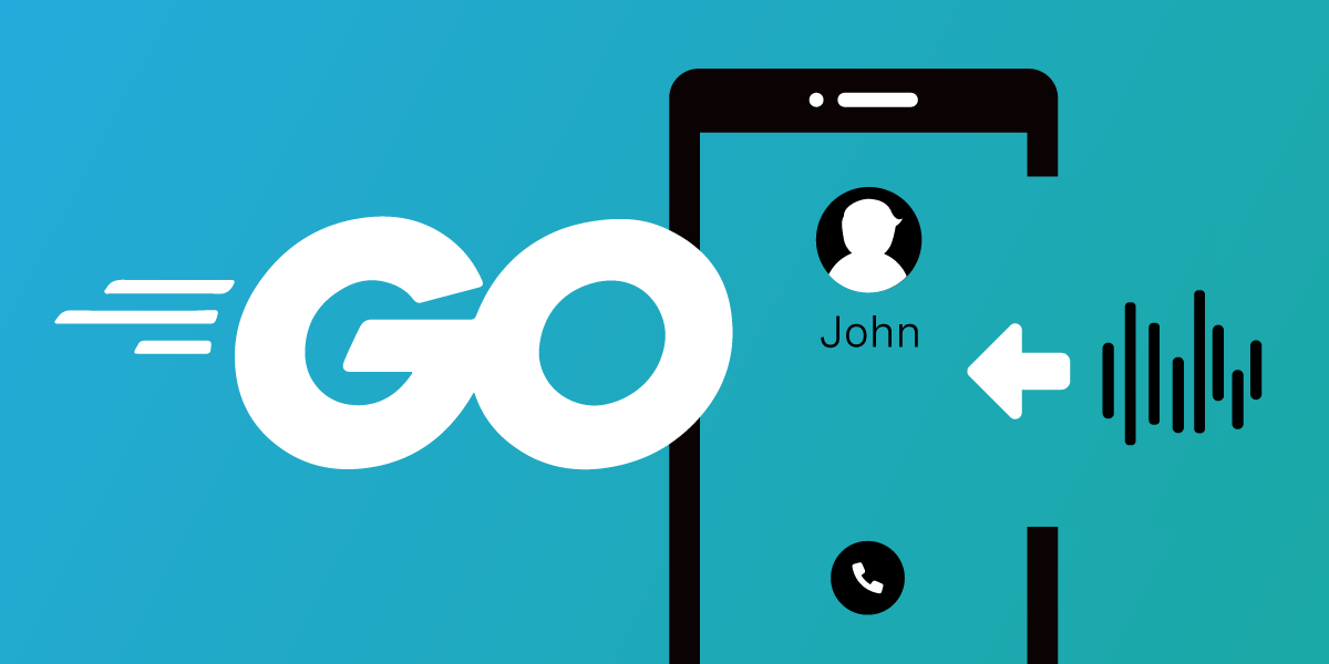 Play an Audio File Into a Voice Call With Go