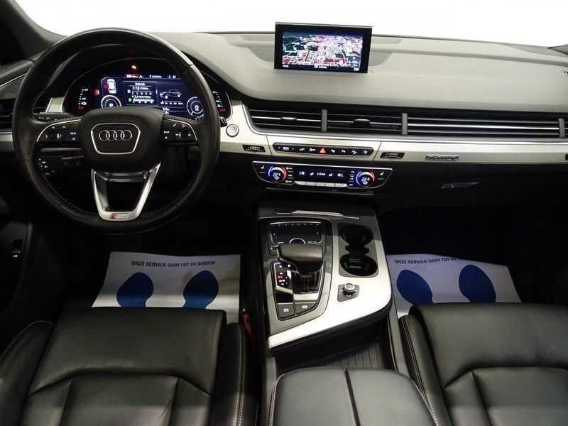 Audi Q7 3.0 TDI e-tron 374pk Quattro S-Line - Pano, Virtual Cockpit, Camera, Leer, Full! afbeelding 8