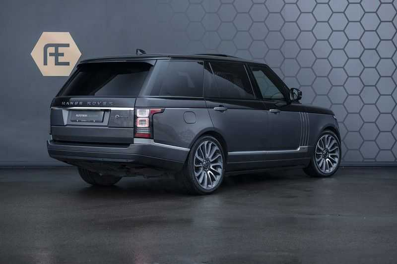 Land Rover Range Rover 4.4 SDV8 SVAutobiography LWB +Org. NL Geleverd + NP 270K + BTW + SVO DUO TONE LAK + Elek. Treeplanken afbeelding 3