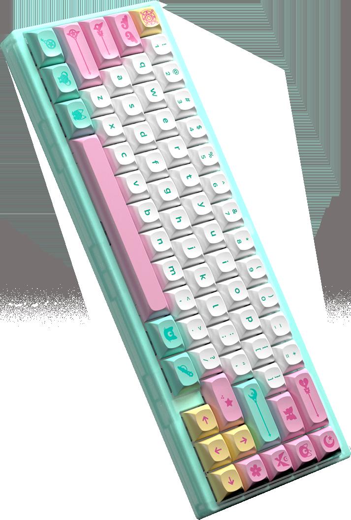 Portico keyboard render.