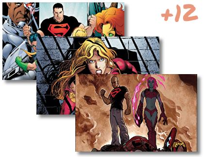 Young Justice theme pack