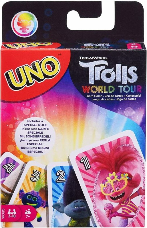 Trolls World Tour Uno