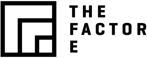 theFactor.e logo