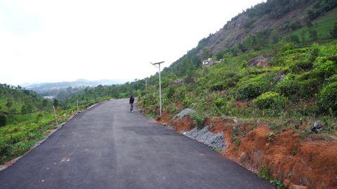 Driveway near Plot 5