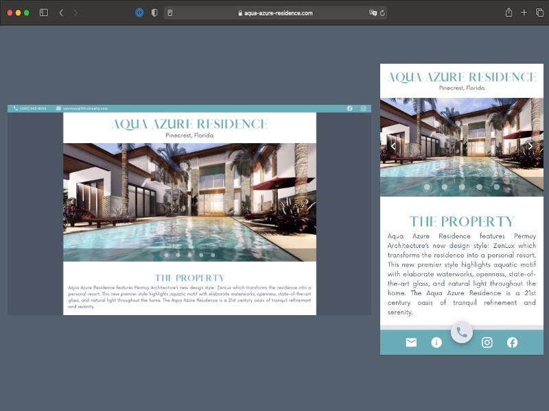 aqua-azure-residence.com