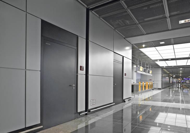 Стальные двери и двери из нержавеющей стали STS/STU
