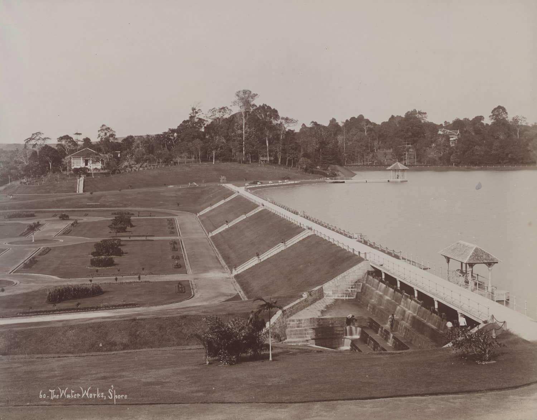 Impounding Reservoir, 1890s