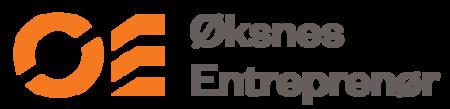 Logo Øksnes Entrepenør