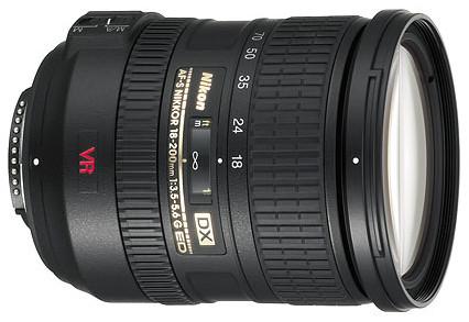 Nikon 18-200MM F3.5-5.6G IF-ED AF-S VR DX