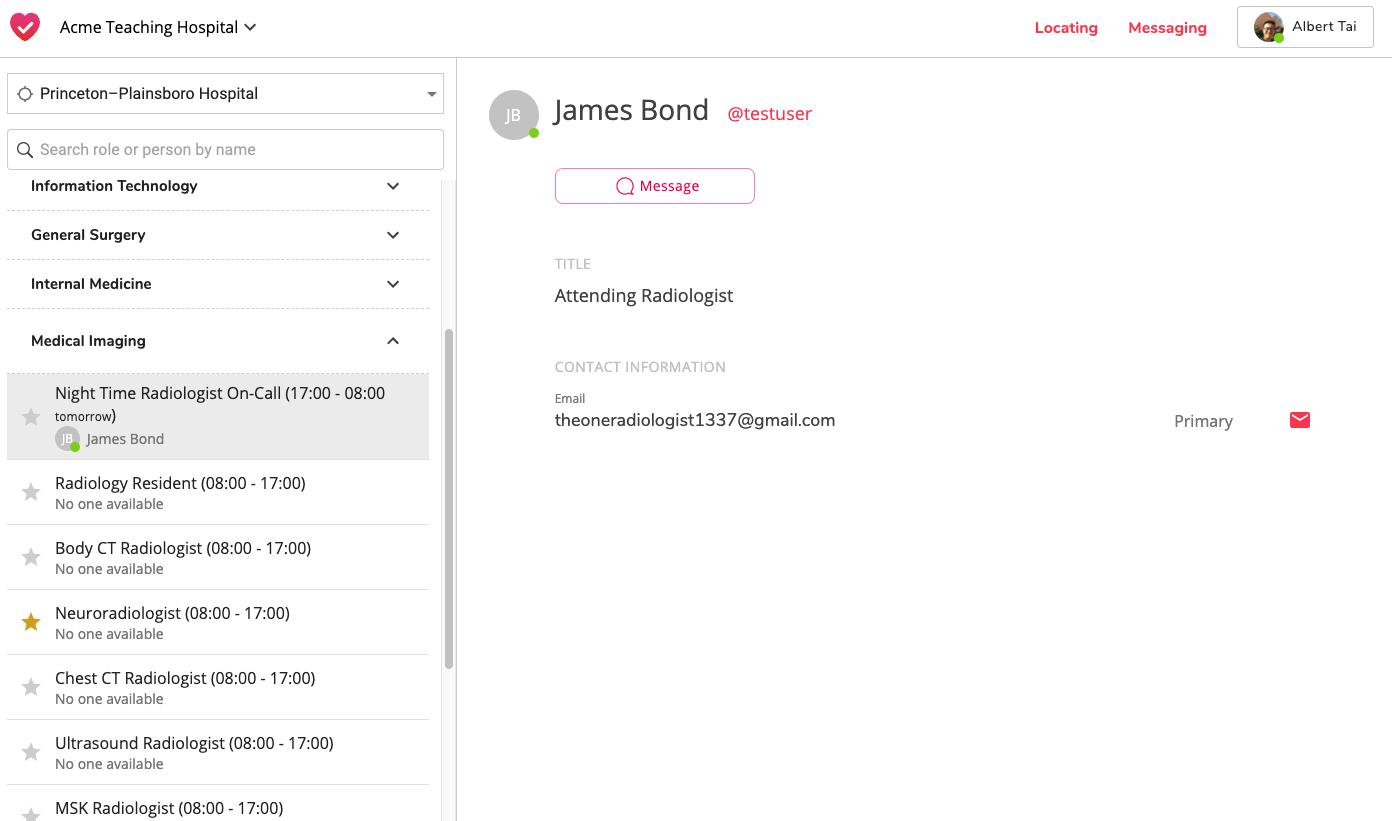Virtual Switchboard Web Screenshot