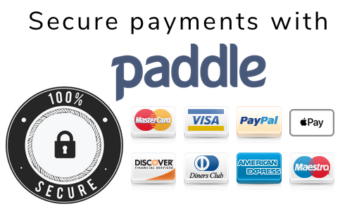 secure payments with paddle