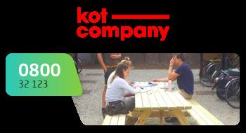 KotCompany gebruikt een 0800-nummer.