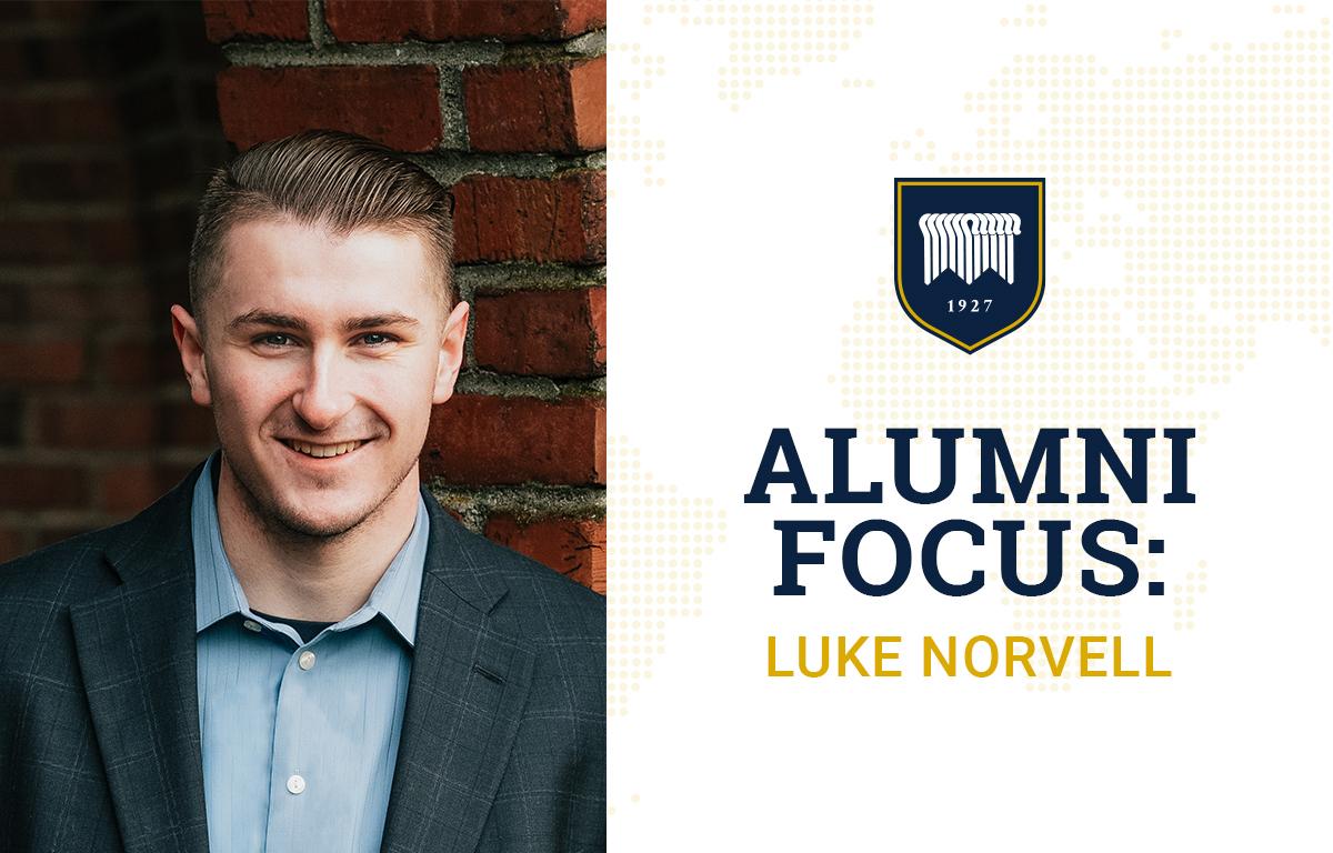 Alumni Focus: Luke Norvell image